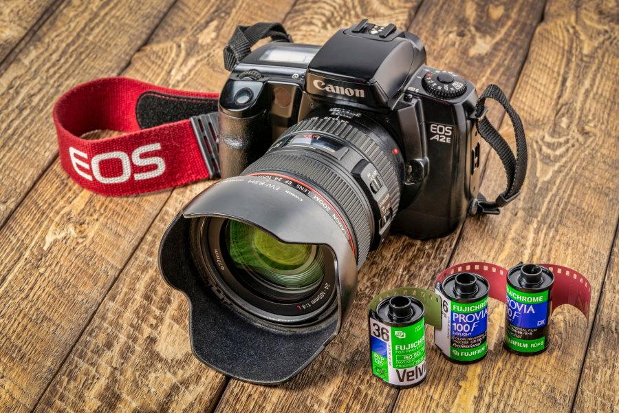 Actividades audiovisuales. Foto Canon EOS